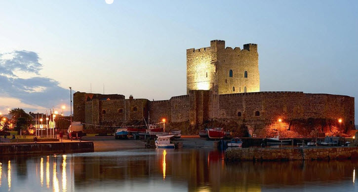 ARDS TAXIS TOURS - CARRICKFERGUS CASTLE